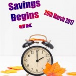 Daylight Savings UK - 2017