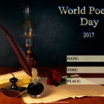 World Poetry Day - 2017 - fillable