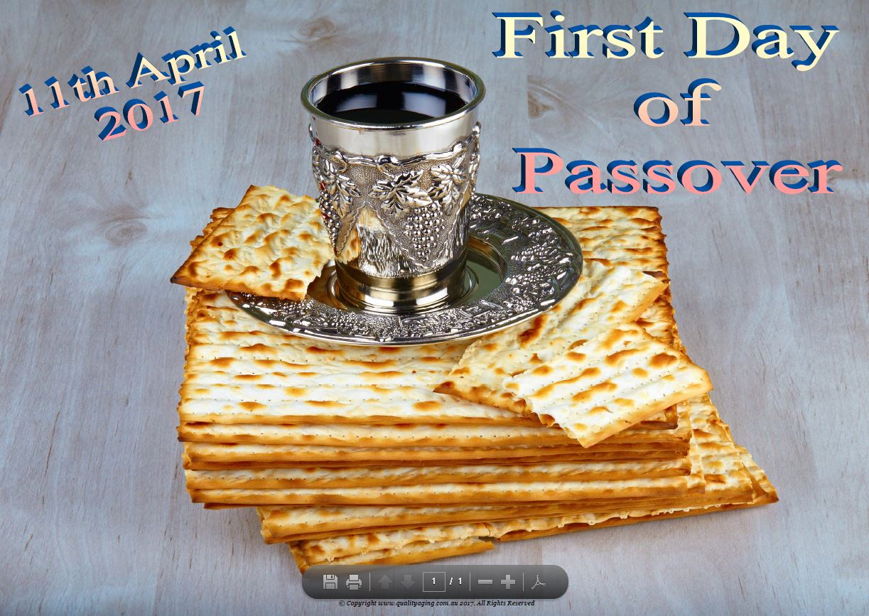 Passover date