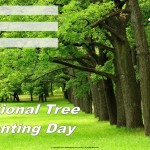 National Tree Planting Day - 2017 - fillable