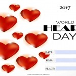 World Heart Day - 2017 - fillable