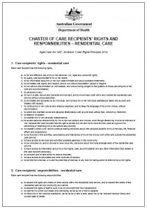 Charter of R&R
