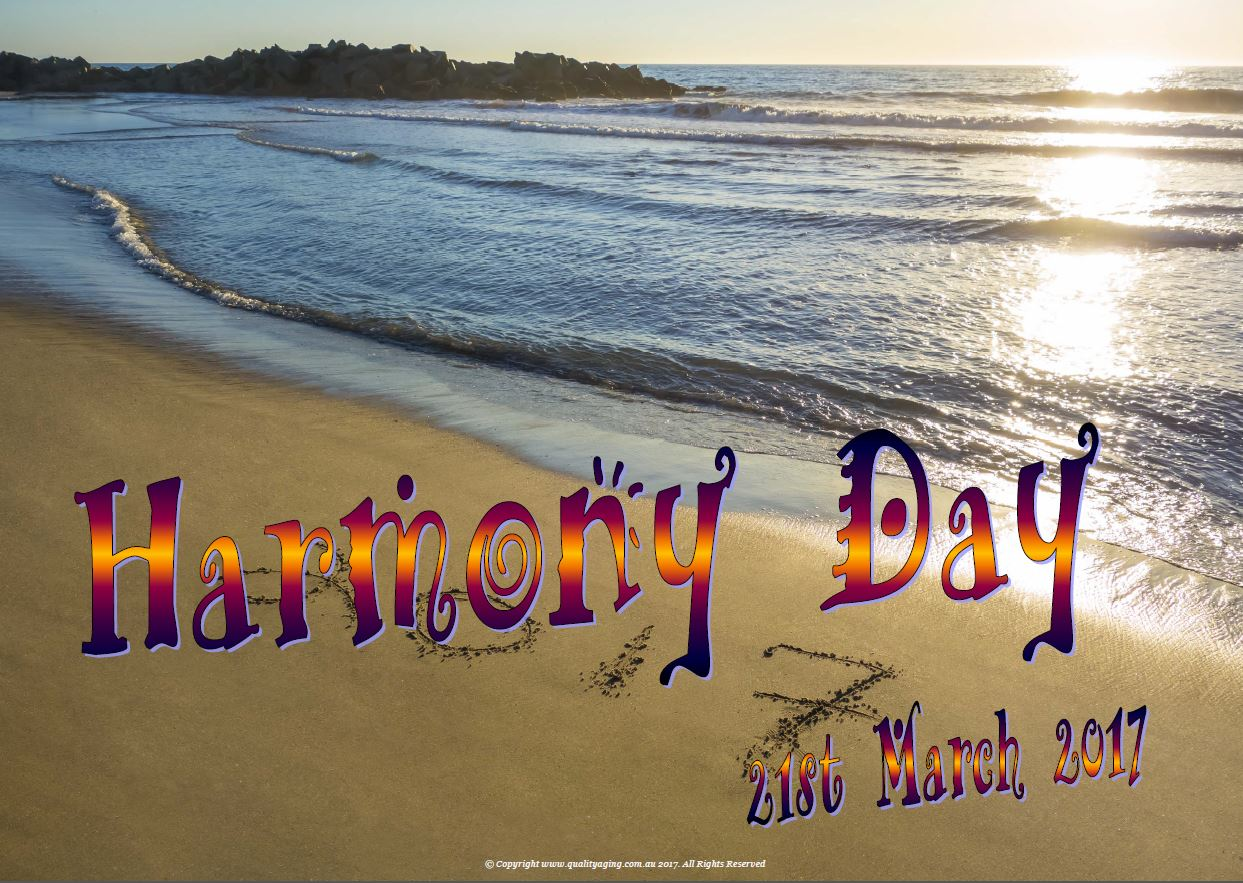 harmony day - photo #10