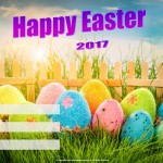 Happy Easter - 2017 - fillable