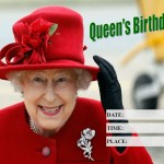 Queens Birthday - 2017 - fillable