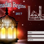Ramadan Begins - 2017 - fillable