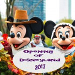 Opening of Disneyland - 2017 - no date