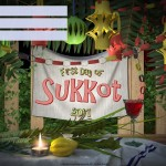 First Day of Sukkot - 2017 - fillable