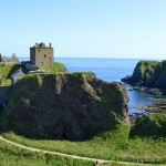 Scotland Castle. Dunnottar Castle is situated beside Stonehaven in the Northeast of Scotland