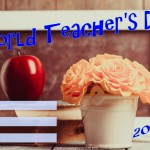 World Teachers Day - 2017 - fillable