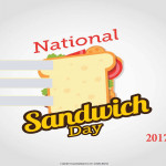National Sandwich Day - 2017 - fillable