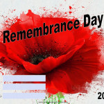 Remembrance Day - 2017 fillable