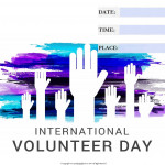 Int Volunteer Day - 2017 - fillable