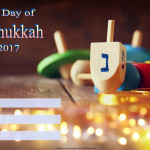 Last day of Hanukkah - 2017 - fillable