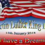 Martin Luther King Day - 2018