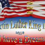 Martin Luther King Day - 2018 - fillable