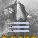 Mozarts Birthday - 2018 - fillable