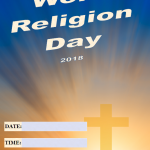 World Religious Day - 2018 - fillable