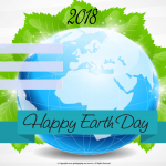 Happy Earth Day - 2018 - fillable