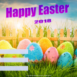 Happy Easter - 2018 - fillable