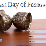 Last Day of Passover - 2018 - fillable