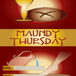 Maundy Thursday - 2018 - fillable