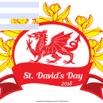 St David's Day - 2018 - fillable