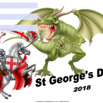 St Georges Day - UK - 2018 - fillable
