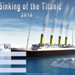 The Sinking of the Titantic - 2018 - fillable