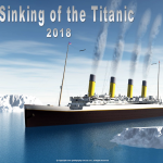 The Sinking of the Titantic - 2018 - no date