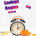 USA Daylight Savings - 2018 - fillable