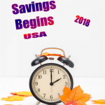 USA Daylight Savings - 2018 - no date