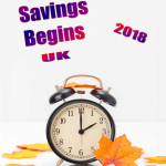 Uk Daylight Savings - 2018 - no date