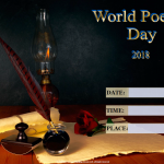 World Poetry Day - 2018 - fillable