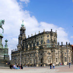 The Hofkirche stands as one of Dresden's foremost landmarks