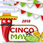 Cinco de Mayo - 2018 - fillable