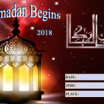 Ramadan Begins - 2018 - fillable