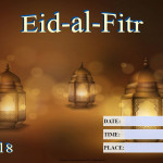 Eid-al-Fitr - 2018 - fillable