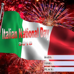 National Italian Day - 2018 - fillable