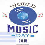 World Music Day - 2018 - fillable