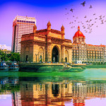 gateway of india most tourist visited landmark in india, mumbai, india