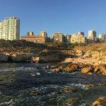 Beirut coastline and buildings - Lebanon