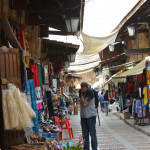 Byblos, Lebanon- A view of the traditional old souks of Byblos in the morning.