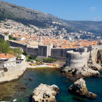 City walls of Dubrovnik Old Town, Croatia