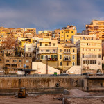 Cityscape of old Tripoli, Lebanon