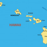 Hawaii - map