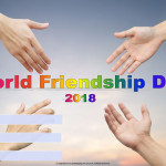 World Friendship Day - 2018 - fillable