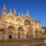The Intricate Saint Marks Cathedral In Venice