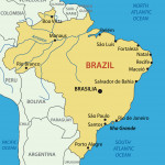 Federative Republic of Brazil - map