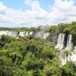 Iguazu waterfalls at Iguacu National Park, Argentina & Brazil